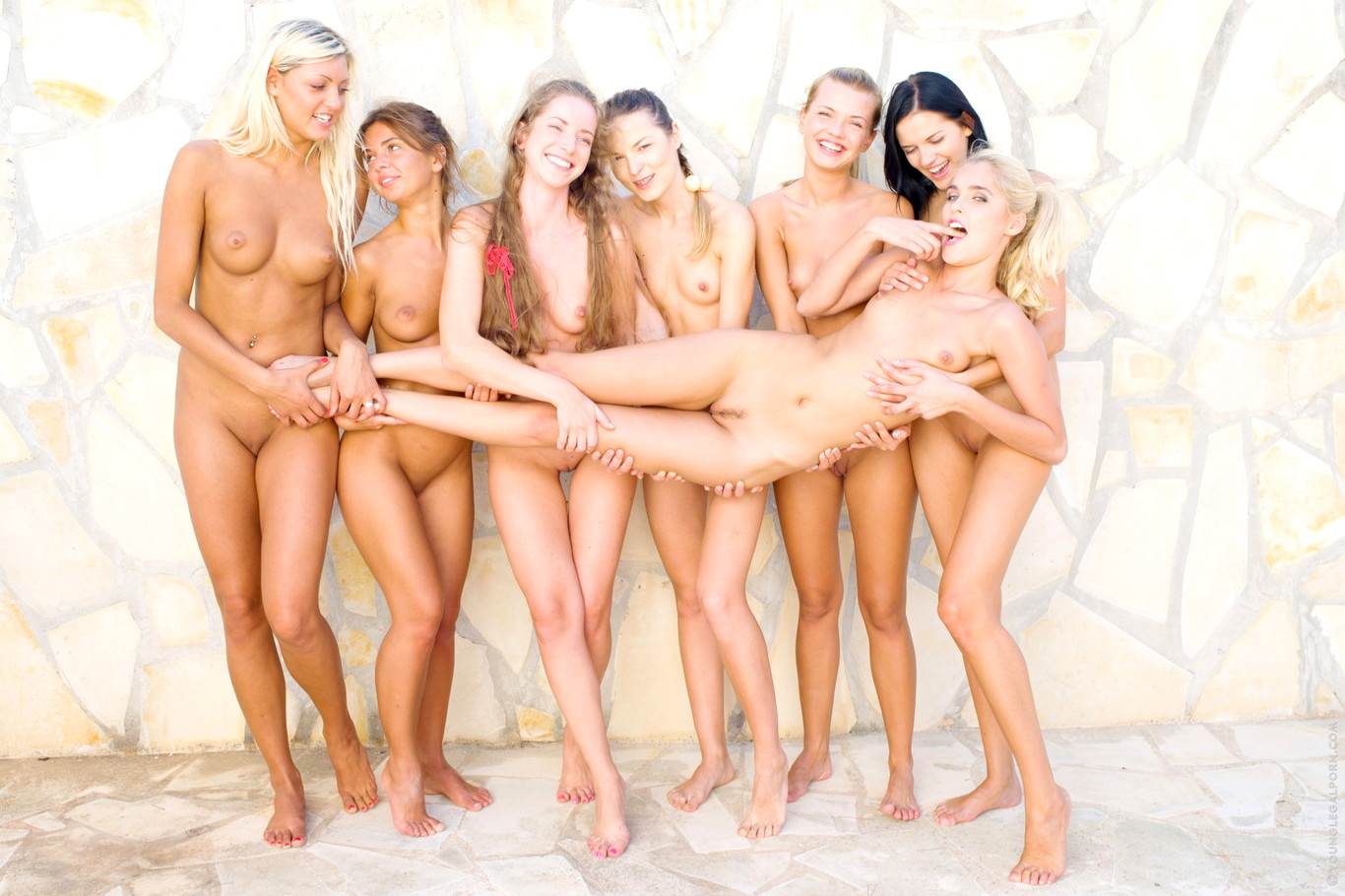 Babe Today 18 Samo dekleta Ivana Fukalot Sasha Blonde Stasha-6906