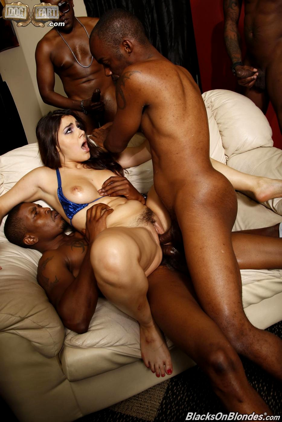 Taste what ebony group sex pics