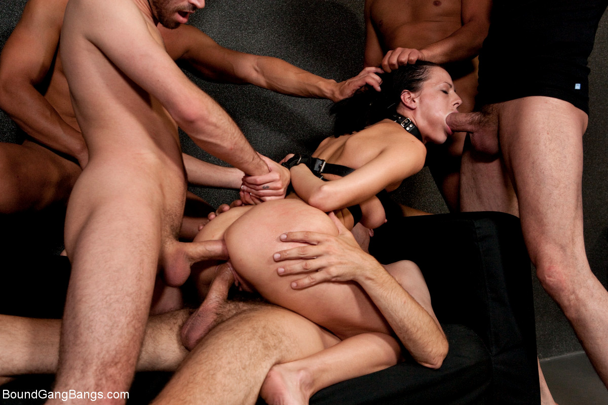 Bondage Gang Bang