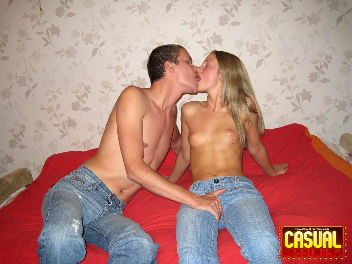 Casual teen sex fucking with a real gentleman - 1 part 9