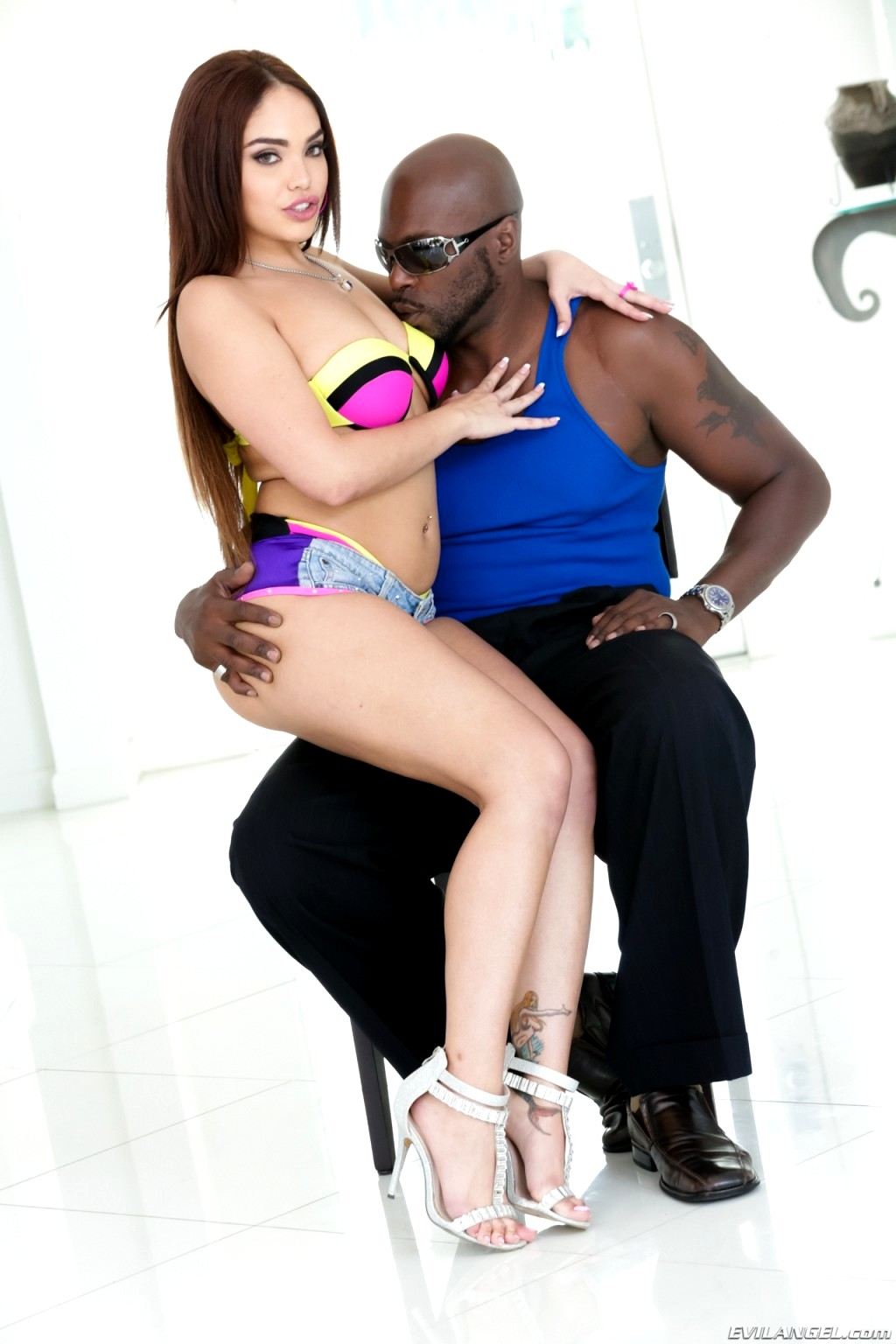 Porn clips Naked black lesbian sex