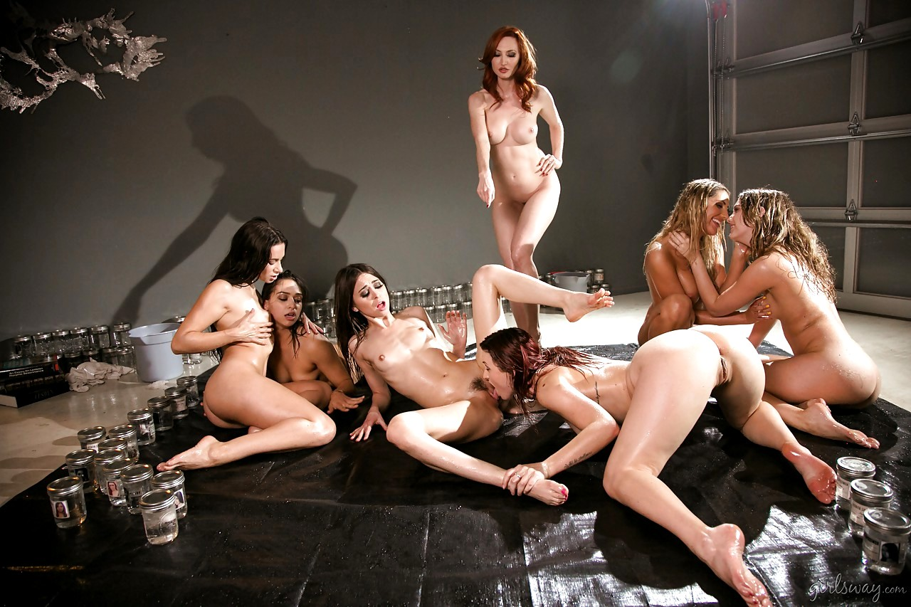 Lesbian orgy pornstar, real young brother sister sex