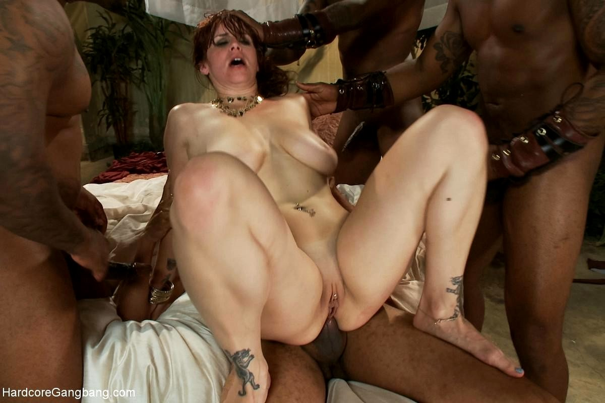 Belladonna interracial gang bangs