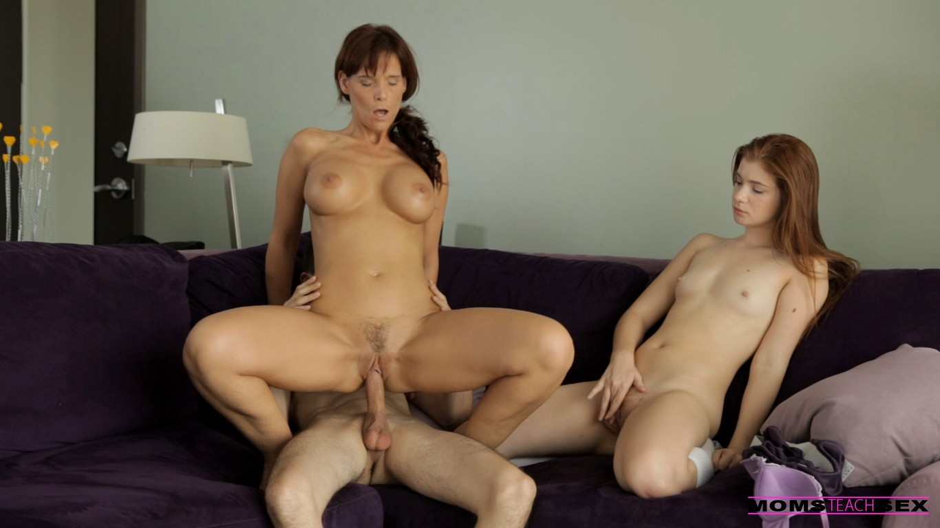 Moms teach sons to fuck #13