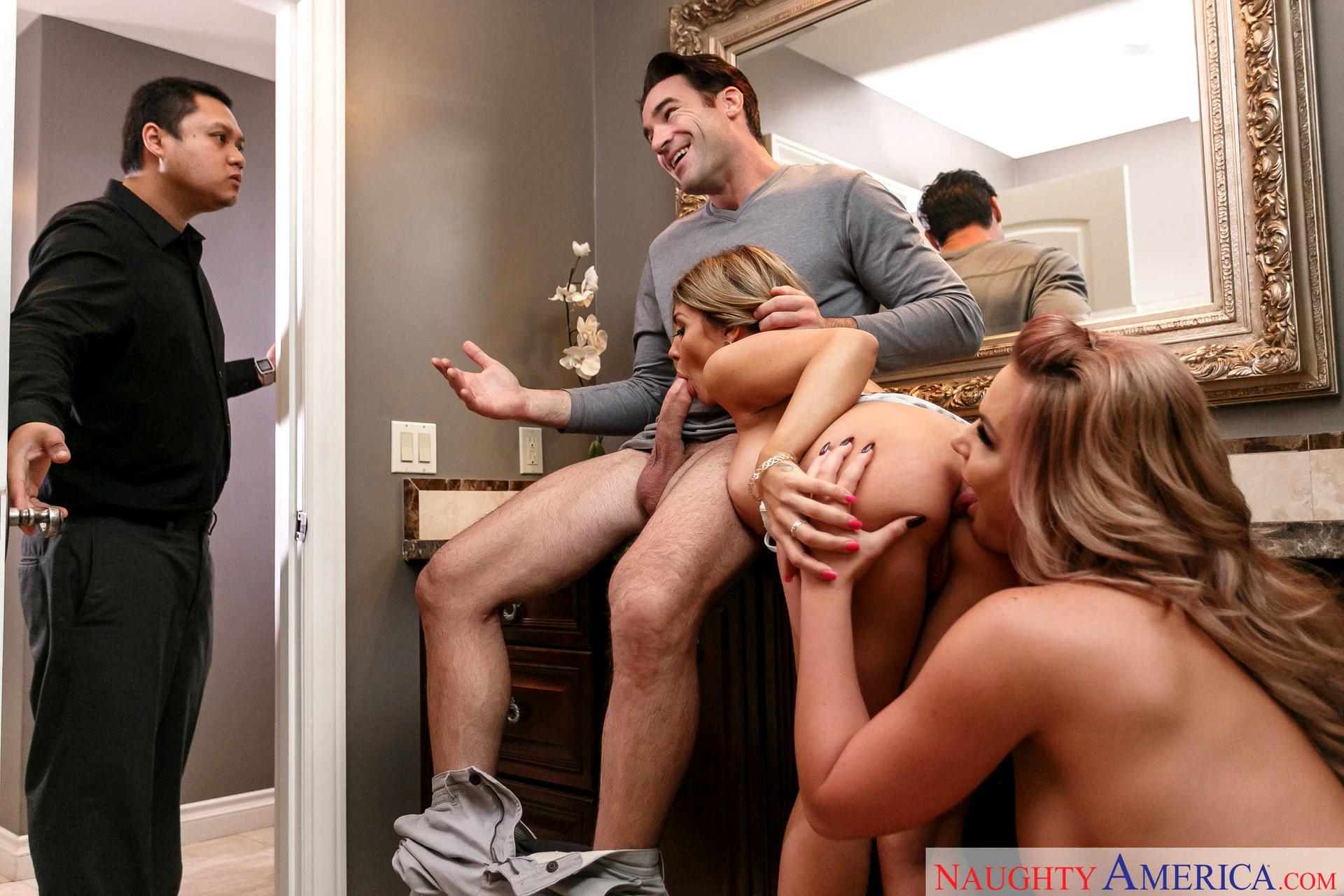School girl naughty america threesome full movie