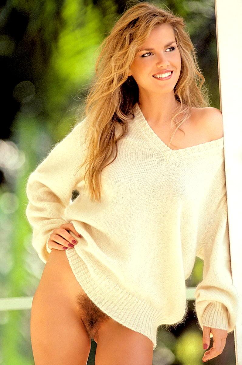 cute brunette model
