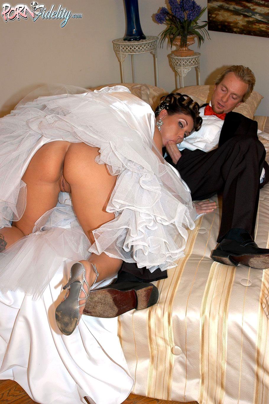 Bride cuckold captions