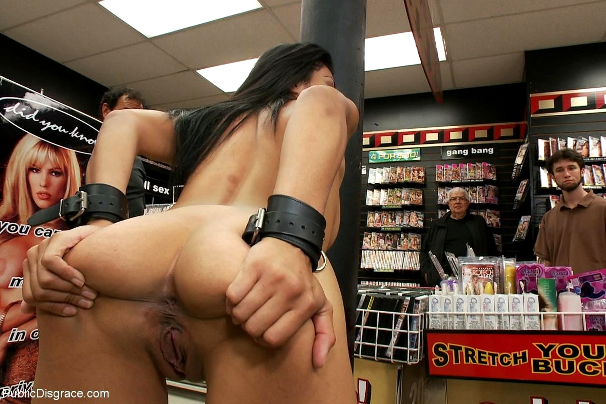 Black girl fucking in store