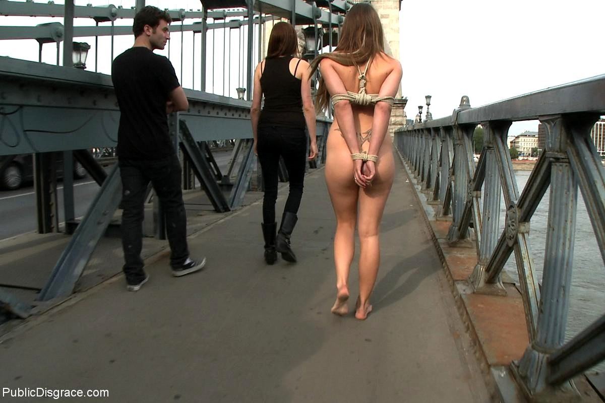 Babe Today Public Disgrace Mona Lee James Deen Wild Nude In Public -5371