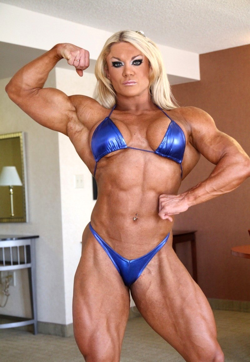 Babe Today She Muscle Gym Lisa Cross Classic Female -4917