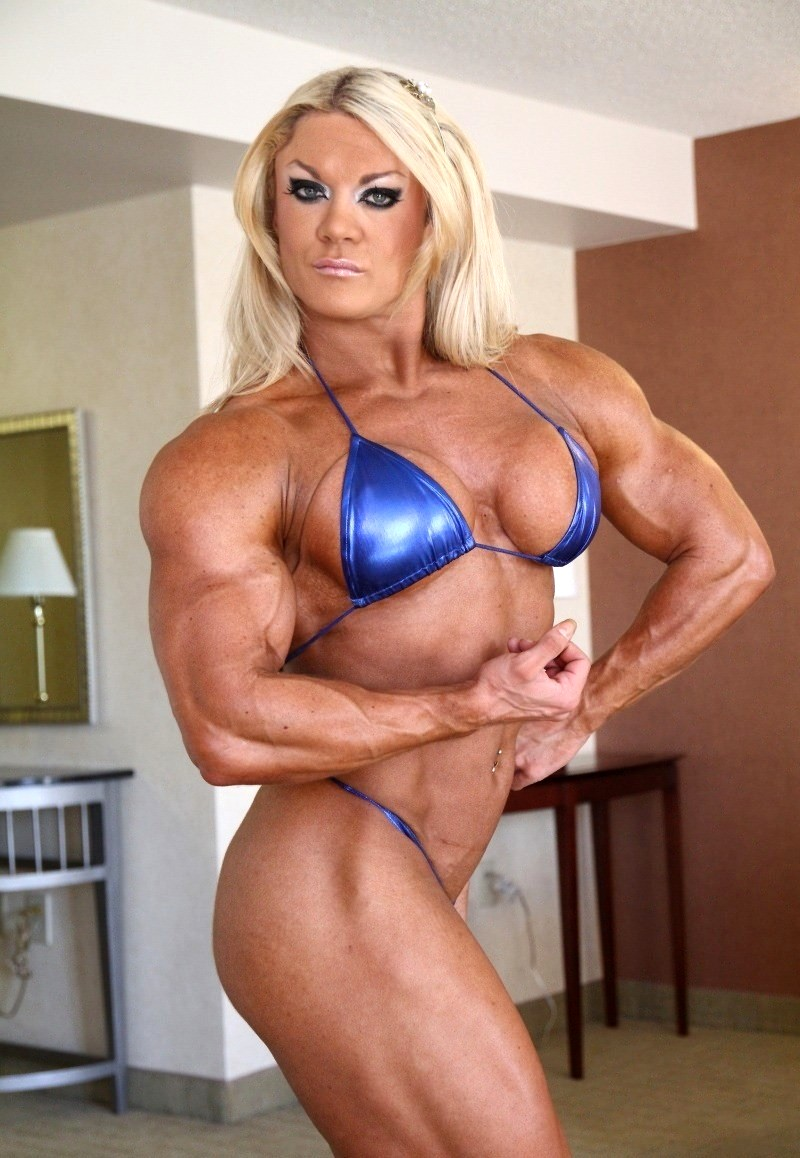 Babe Today She Muscle Gym Lisa Cross Classic Female -1115