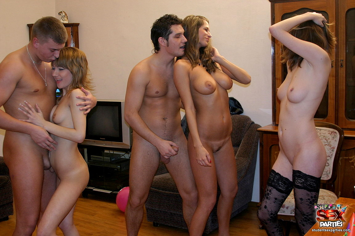 real college sex party