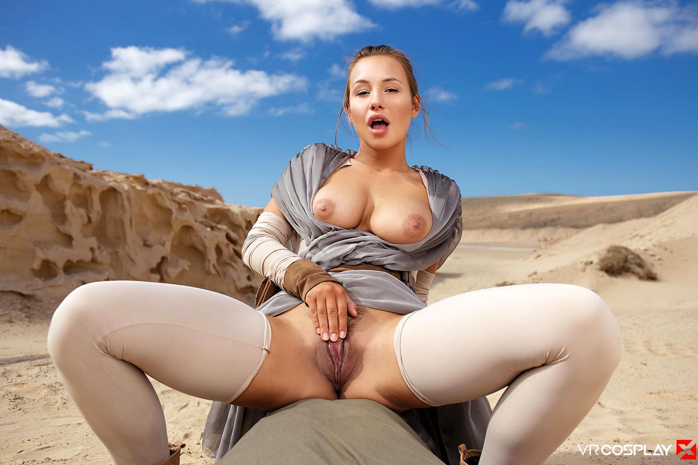 Star wars rey porno