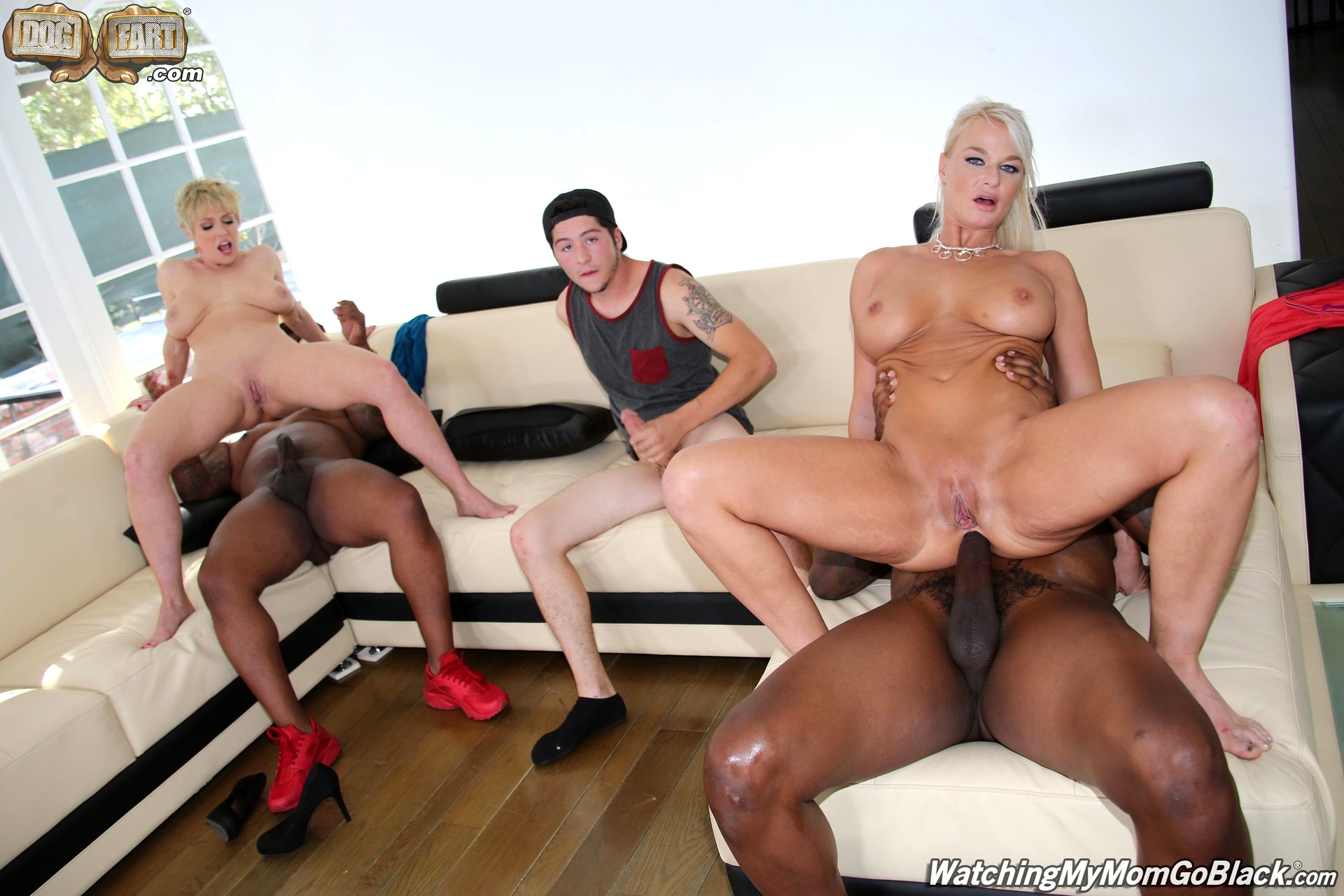 Dee williams amp london river do bbc anal in front of step son 6
