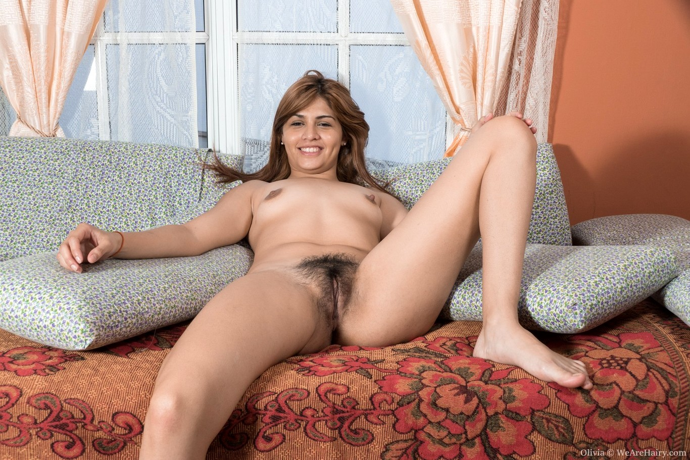 Pat nude hairy ass sitting