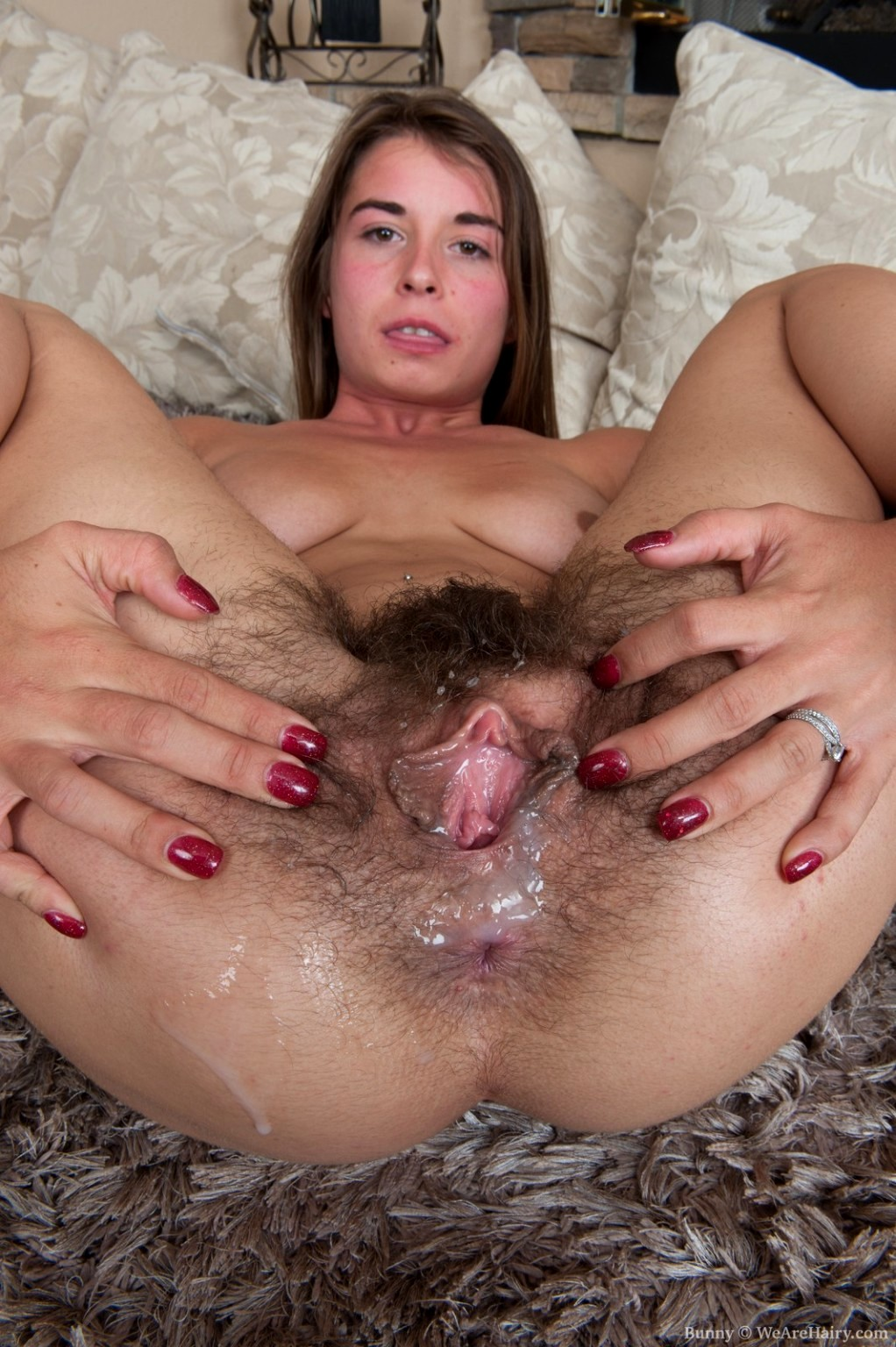 Hairy mature orgasm video — 2